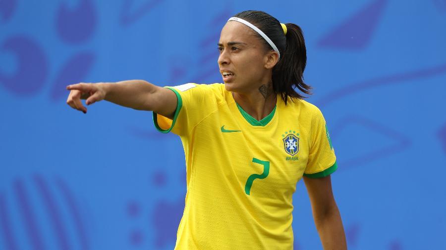 Próxima adversária da equipe brasileira será a França ou a Alemanha. Foto: Rener Pinheiro / MoWA Press/via UOL