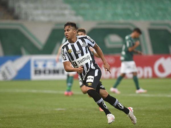 Kaio Jorge tem contrato com o Peixe até dezembro e deseja jogar na Europa. Foto: Ivan Storti/Santos FC