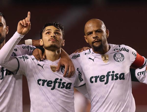 Somente um grave acidente de percurso poderá tirar o tri da Libertadores do Palmeiras. Foto: Cesar Greco/Ag. Palmeiras