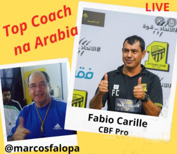 Ex-treinador do Corinthians atualmente comanda equipe árabe