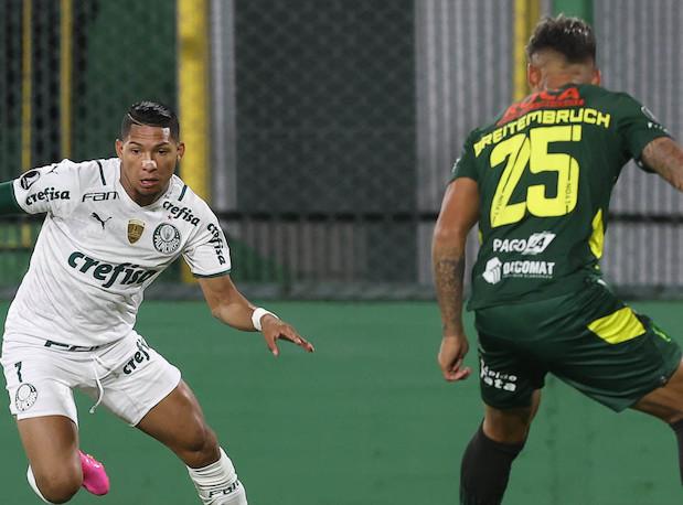 Na Argentina o Alviverde venceu por 2 a 1. Foto: Cesar Greco/Ag.Palmeiras