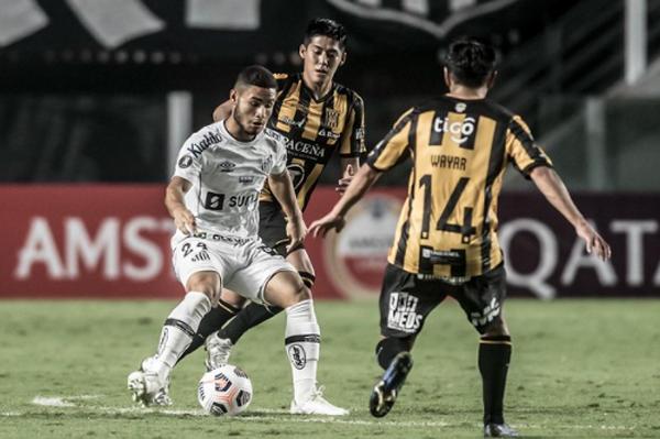Peixe goleou o time boliviano na Vila. Foto: Divulgação/Santos F.C