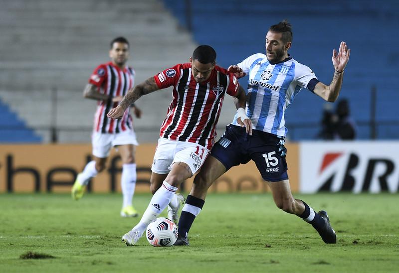 Tricolor lidera o Grupo E com 8 pontos e tem a classificação encaminhada. Foto: Staff Images/Conmebol