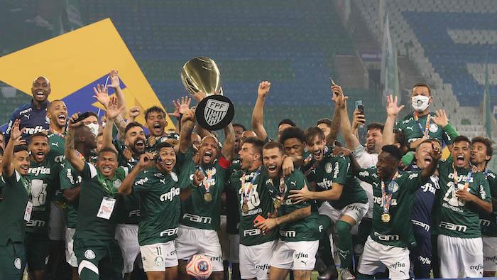Palmeiras deve levar o bi do Paulista em 2021. Foto: Cesar Greco/Ag. Palmeiras