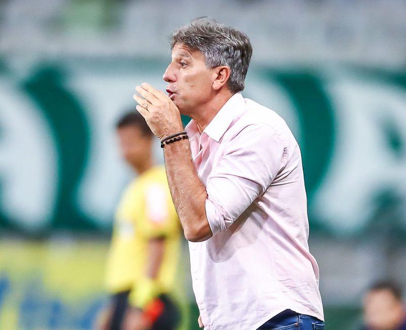 Ex-treinador do Grêmio se mostrou disposto a ouvir o Timão. Foto: Lucas Uebel/Grêmio FBPA