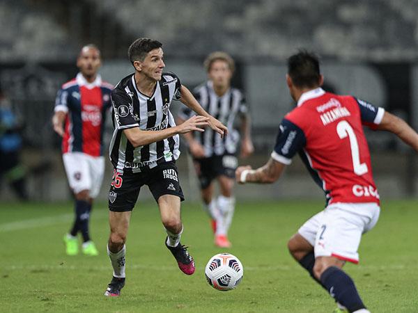 Time mineiro pode garantir o primeiro lugar do grupo em caso de vitória. Foto: Pedro Souza/Atlético