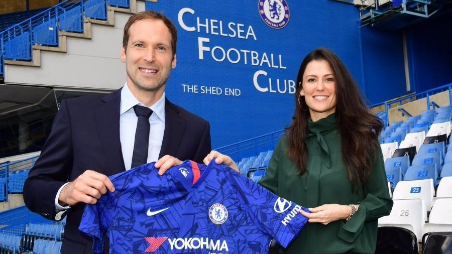 Ex-goleiro será assessor técnico do clube inglês. Foto: Divulgação/Chelsea