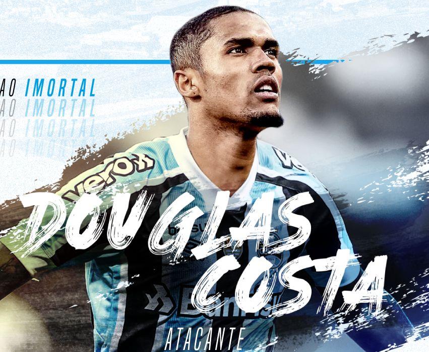 Atacante que pertence à Juventus assinou contrato de empréstimo com o Tricolor Gaúcho. Foto: Grêmio/Divulgação