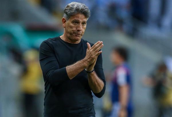 Treinador não aceitou a proposta do Corinthians. Foto: Lucas Uebel/Grêmio