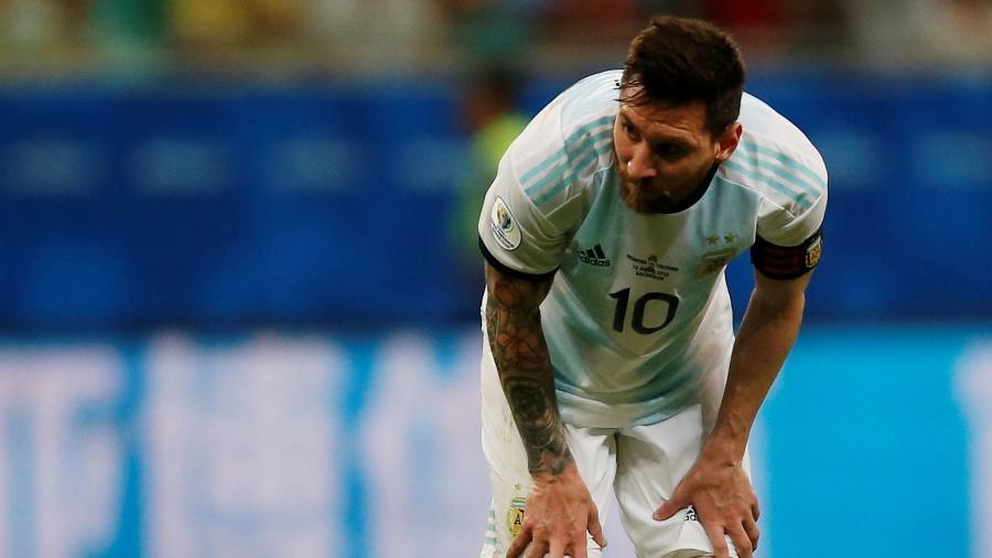 O jogador do Barcelona segue devendo na Copa América. Foto:  REUTERS/Luisa Gonzalez/via UOL