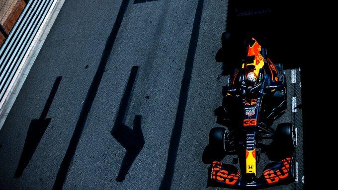Holandês fez a melhor marca do fim de semana. Foto: Red Bull-Honda