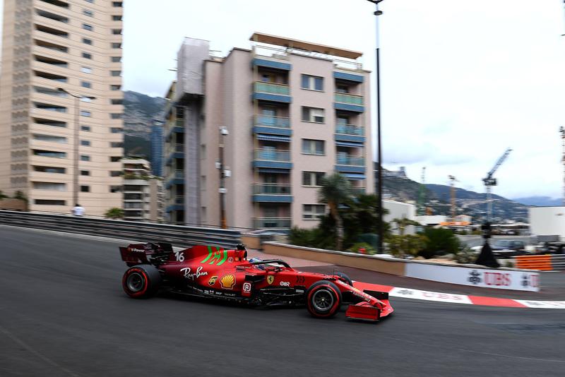 Monegasco bateu no final da sessão mas garantiu o primeiro lugar. Foto: Scuderia Ferrari