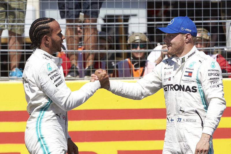 Britânico foi perfeito na classificação em Paul Ricard. Foto: Mercedes-AMG F1