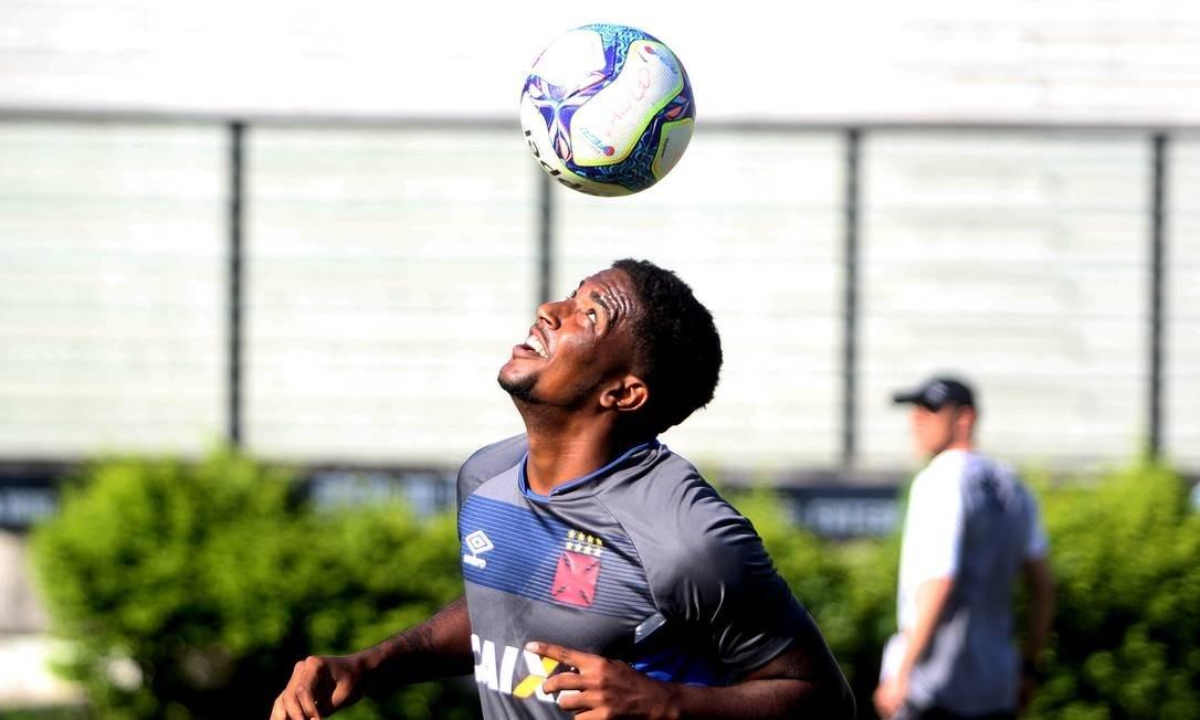 Jogador do Vasco estava emprestado à Ponte Preta. Foto: Paulo Fernandes/vasco.com.br