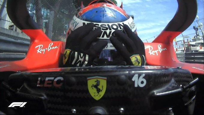 O pole teve problemas em razão da batida sofrida na classificação. Foto: Reprodução/F1