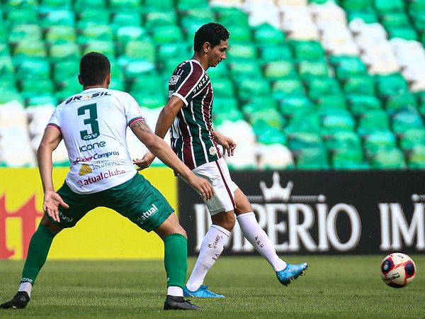 Peixe quer Ganso por empréstimo até o fim de 2021. Foto: Lucas Merçon/Fluminense FC
