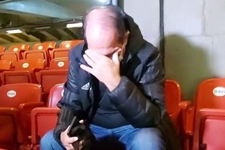 Coordenador de futebol do São Paulo foi visto chorando após conquista do Paulista. Foto: São Paulo/Reprodução