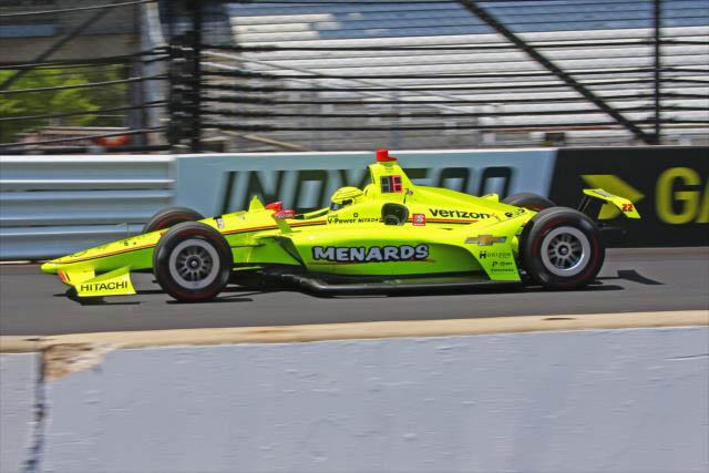 Piloto da Penske largou na pole e liderou a maior parte da prova. Foto: IndyCar