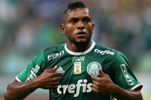 Atacante colombiano pertence ao Palmeiras e está emprestado ao Junior Barranquilla. Foto: Cesar Greco