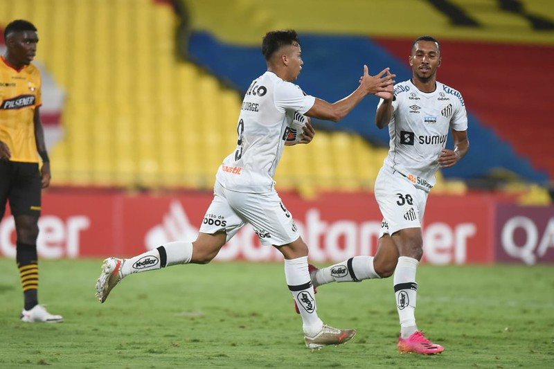 Pela primeira vez na história o Peixe foi eliminado na primeira fase da Libertadores. Foto: Ivan Storti/Santos