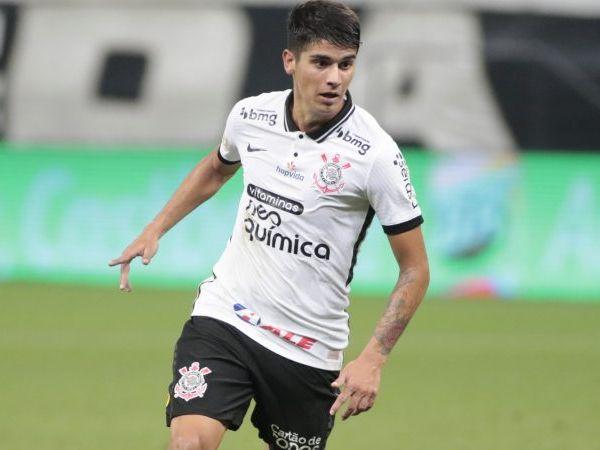 Ángelo Araos revelou elogios recebidos pelo novo treinador corintiano. Foto: Rodrigo Coca/Ag Corinthians