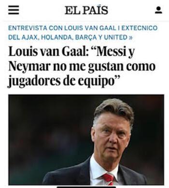 Os últimos treinadores se adaptaram demais a Messi, quando deveria ser o contrário