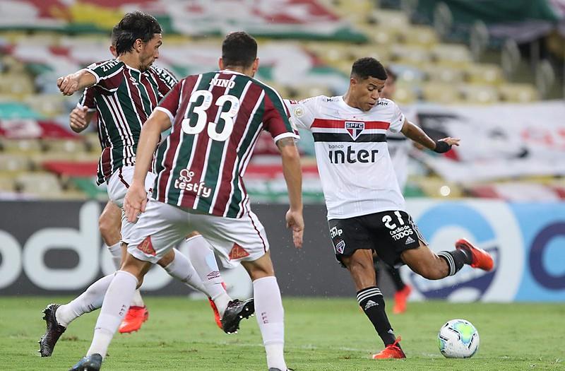 Tricolor não contará com Daniel Alves, Benítez e Arboleda. Foto: Rubens Chiri/saopaulofc.net