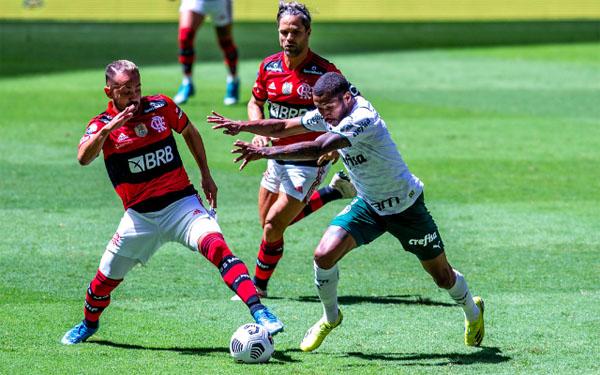 Equipes são apontadas como favoritas ao título nacional. Foto: Alexandre Vidal/Flamengo