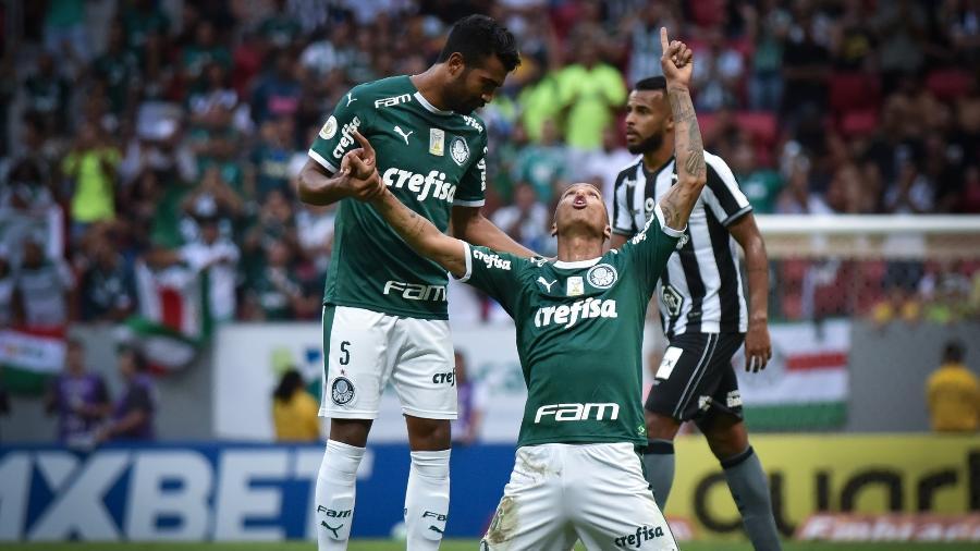 Deyverson mudou comportamento em sua nova fase no Verdão. Foto: Andre Borges/AGIF