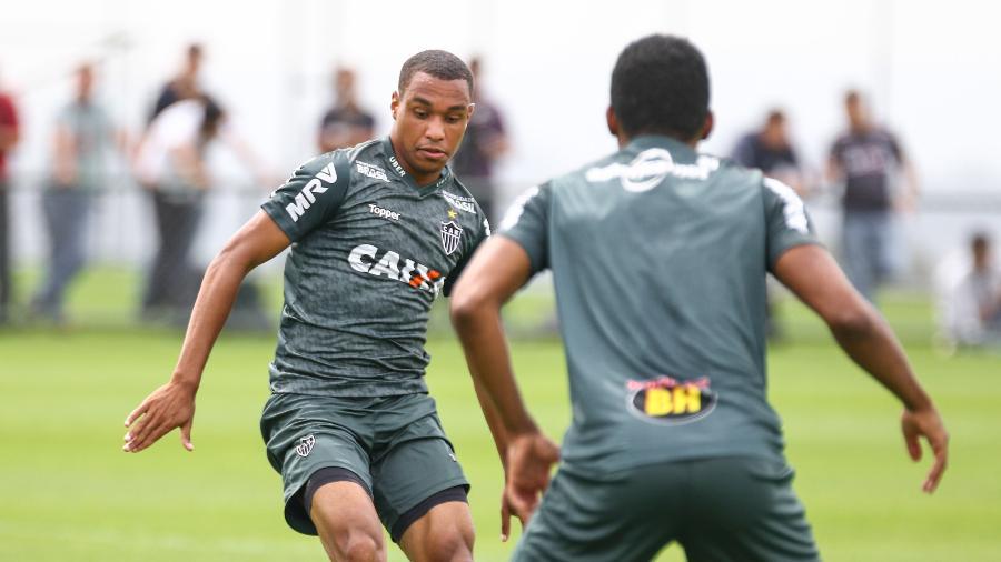 Leandrinho está emprestado pelo Napoli até o fim do mês. Foto: Bruno Cantini/Divulgação/Atlético-MG