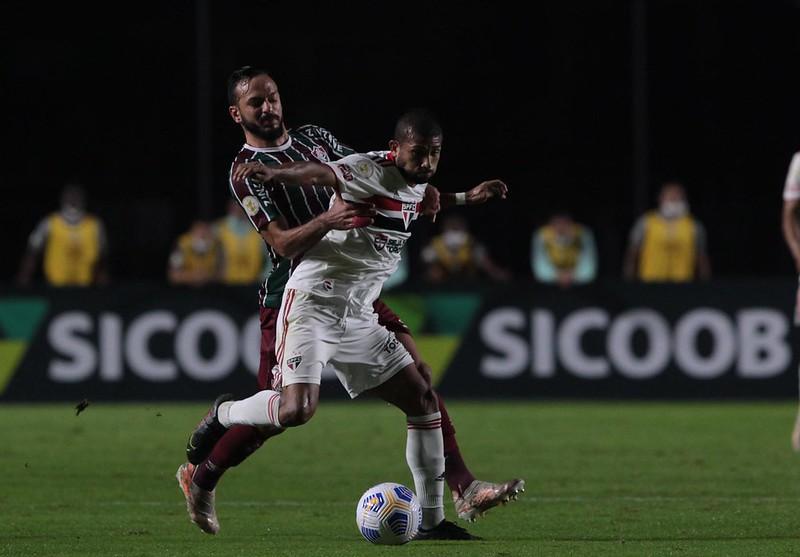 Tricolor deve poupar seus titular no jogo em Teresina. Foto: Rubens Chiri/saopaulofc.net