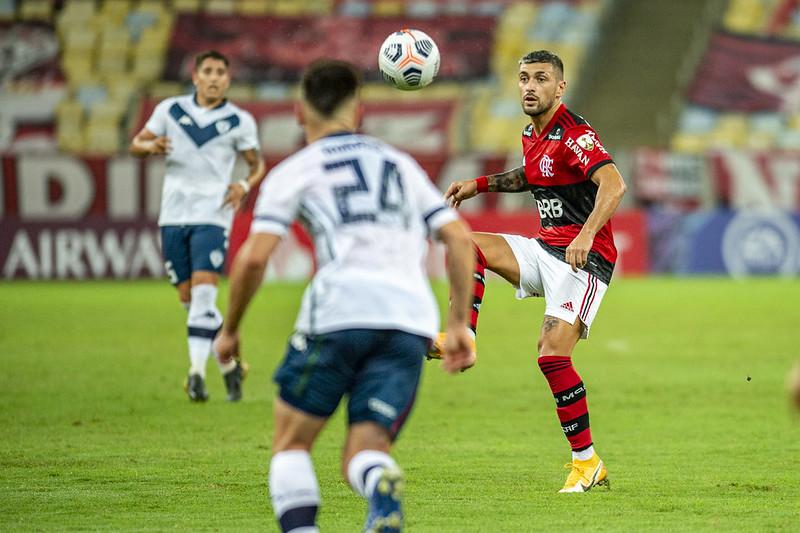 Meia do Flamengo destacou não ser momento para disputa do torneio. Foto: Marcelo Cortes/Flamengo