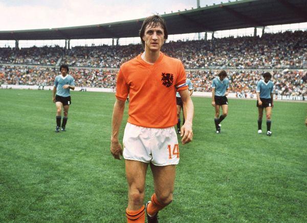 Craque holandês rompeu se recusou a estampar a marca da Adidas na Copa de 1974. Foto: My ear