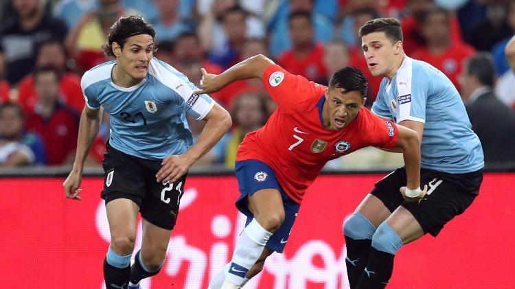 Desta forma, o Uruguai enfrentará o Peru nas quartas de final