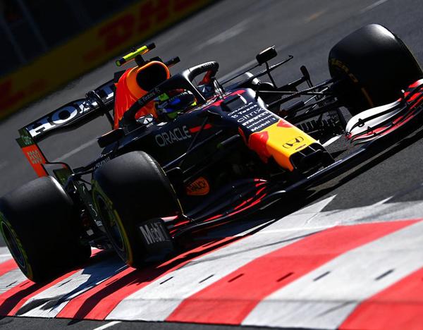 O mexicano Sergio Pérez terminou com a melhor marca do dia. Foto: Red Bull Racing Honda