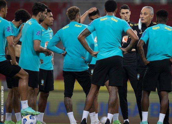 Jogadores ameaçam boicotar a Copa América. Foto: Lucas Figueiredo/CBF