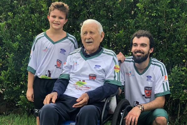 Aos 93 anos, o craque relembrou seus grandes momentos