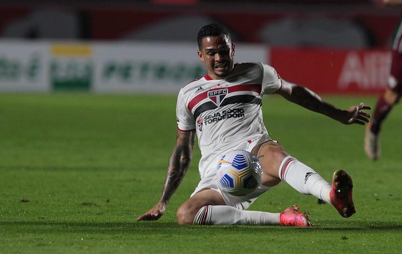 Tricolor tenta a primeira vitória no campeonato. Foto: Rubens Chiri/saopaulofc.net