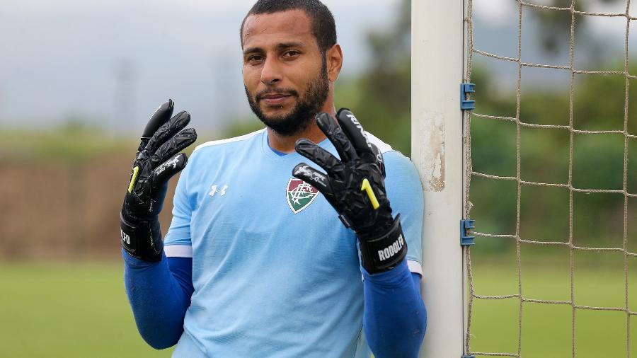 Rodolfo foi flagrado por uso de cocaína em jogo contra o Atlético Nacional. Foto: Lucas Merçon/Fluminense