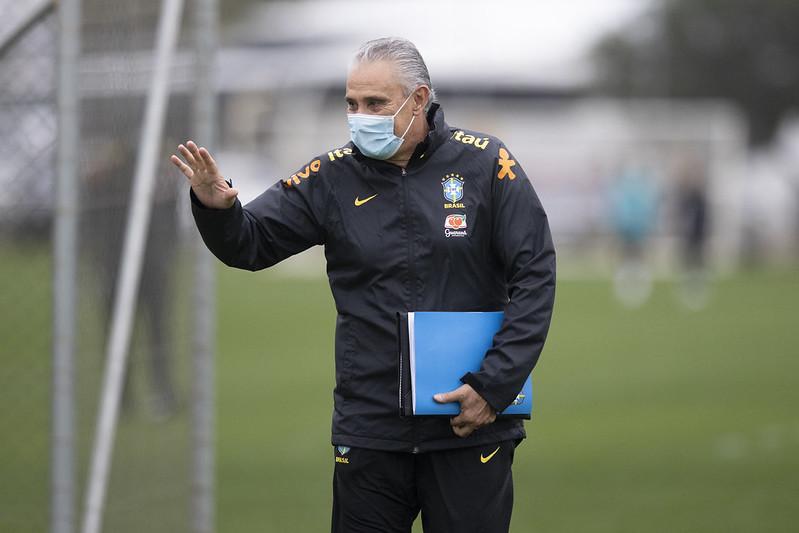 Treinador da seleção entrou em rota de colisão com o presidente afastado da CBF. Foto: Lucas Figueiredo/CBF
