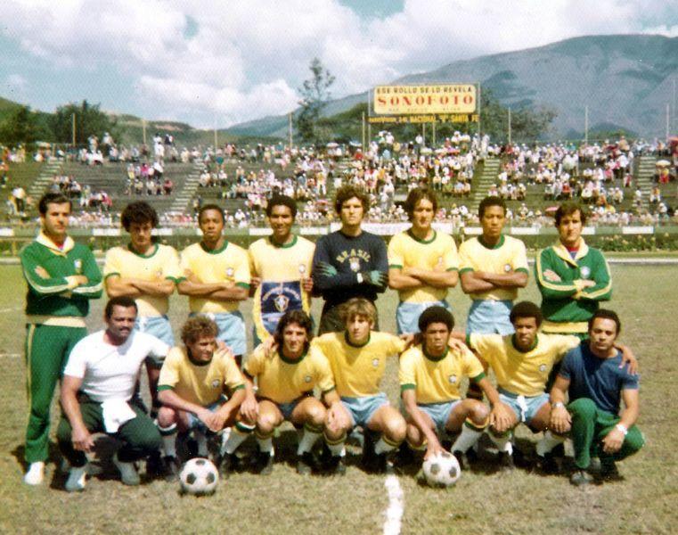 A primeira conquista de Zico com a seleção brasileira