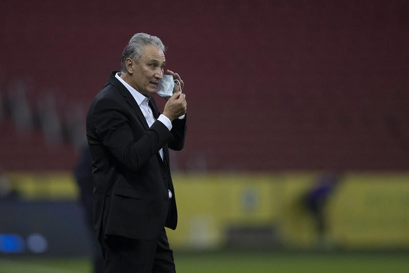 Treinador do Brasil fugiu de polêmicas sobre o presidente afastado da CBF. Foto: Lucas Figueiredo/CBF