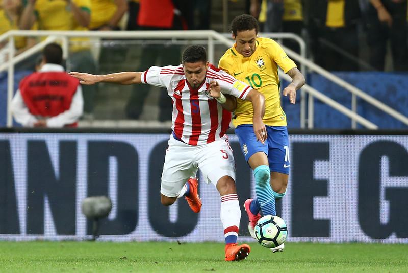 Seleção brasileira não vence os paraguaios fora de casa desde 1985. Foto: Lucas Figueiredo/CBF