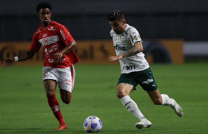 Verdão venceu o jogo de ida por 1 a 0 e tem a vantagem do empate. Foto: Cesar Greco