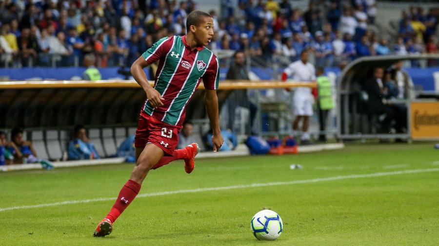Atacante já está negociado com o Watford. Foto: Lucas Merçon/Fluminense F.C.