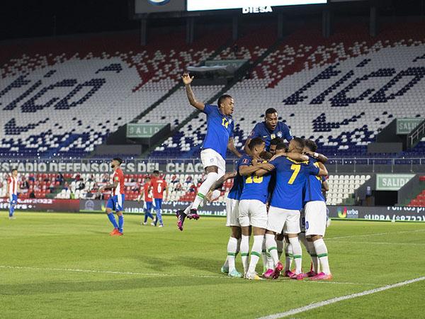 Atletas brasileiros se disseram contra a Copa América, mas fizeram questão de não politizar a queixa. Foto: Lucas Figueiredo/CBF