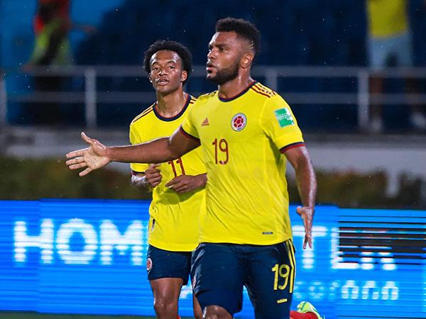Centroavante colombiano tem 15 gols na temporada 2021. Foto: Facebook/Reprodução