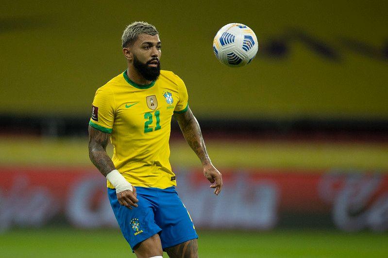 Flamengo é o clube mais prejudicado, com cinco jogadores convocados. Foto: Lucas Figueiredo/CBF