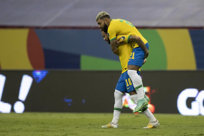 Atacantes da seleção principal entraram na pré-lista do time olímpico. Foto: Lucas Figueiredo/CBF