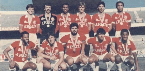 O Inter representou o país e conquistou a primeira medalha olímpica do futebol